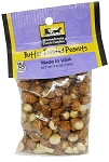 Old Fashioned BUTTER TOASTED PEANUTS 4.5 oz. Hanging Bag