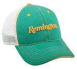 Official Licensed Remington 6 panel Green/Yellow Cap