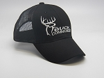 Buck Commander Cap Mesh Black/White logo