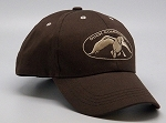 Duck Commander Cap Solid Brown/Tan logo