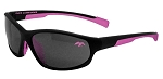 Officially Licensed Duck Commander Black Ladies Frame Sunglasses with Pink Accents