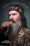Official License Duck Dynasty Happy Phil Poster