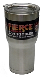 1- 22oz. Double Wall Vacuum Insulated Stainless Steel Fierce Tumbler - Compare to YETI Rambler