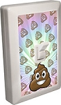 EMOJI LED Night Light Wall Switch Pile of Poo