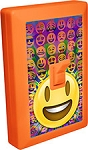 EMOJI LED Night Light Wall Switch Smiley Open Mouth