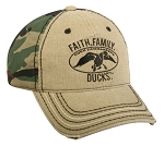 Duck Commander Faith, Family, Ducks  Cap with Duck Commander logo