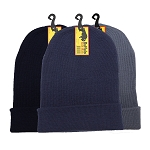 Buffalo Knit Heavy Weight Acrylic Beanie Caps (assorted)