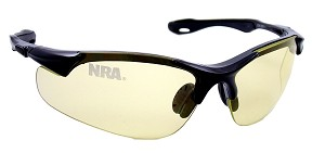 Official Licensed National Rifle Association (NRA) Shooting Glasses 6203