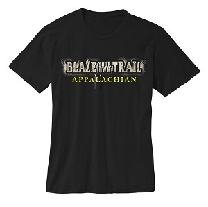 Blaze your own Trail (APPALACHIAN) BLACK T-shirt