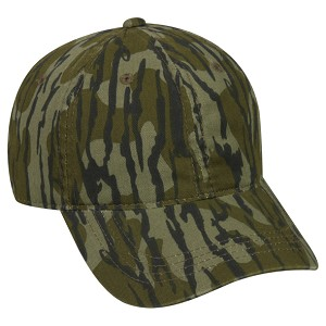 Officially Licensed Mossy Oak® Camo Cap (Bottomland)