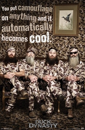 Official License Duck Dynasty Camo Crew Poster