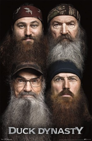 Official License Duck Dynasty 4 Beards Poster