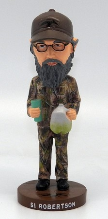 "Duck Commander Bobble-Head -Uncle Si - 6"" tall"