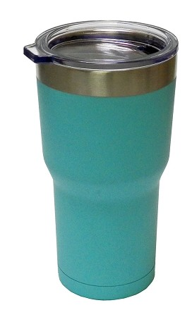 22oz. Double Wall Vacuum Insulated Stainless Steel 'BLUE' Fierce Tumbler